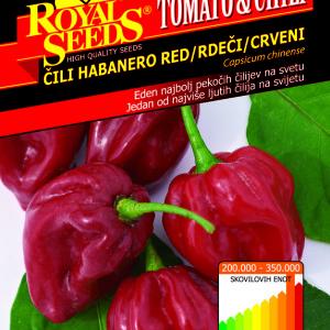 Chili habanero red