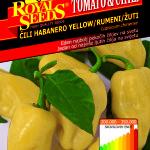 Chili habanero yellow