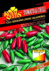 Chili jalapeno serrano